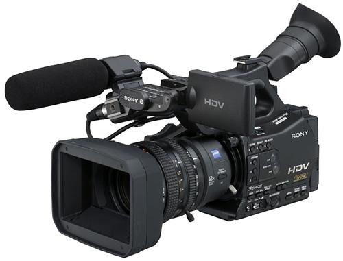 HVR-Z7E, si HD kecil yang sudah interchangeable lens!