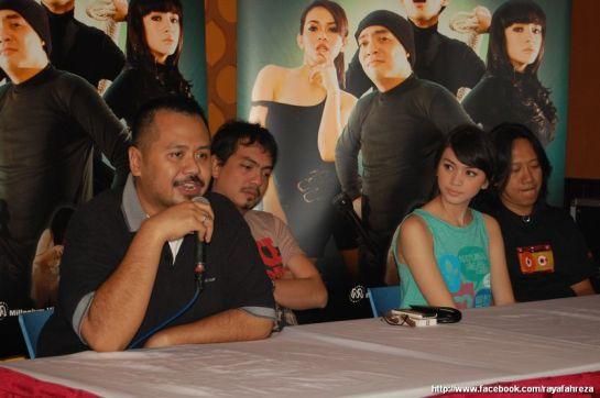 Bareng Indra Birowo, Donita & Dwi Ilalang di presscon TMK
