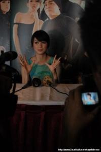 Donita in Press Conference