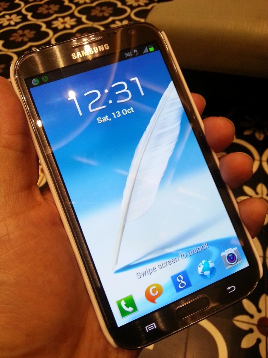 Preview: Hari Pertama Dengan Samsung Galaxy Note 2