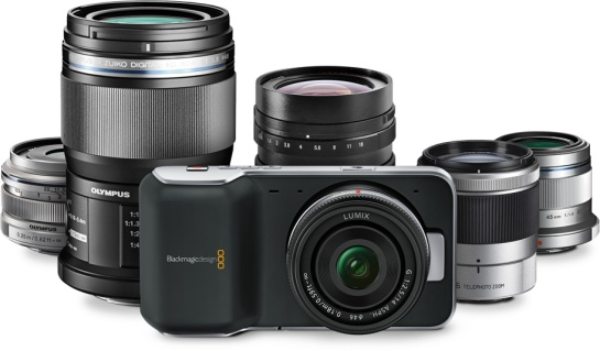 Blackmagic Pocket Cinema Camera - MFT Lens