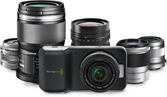 Blackmagic Pocket Cinema Camera - MFT Lens