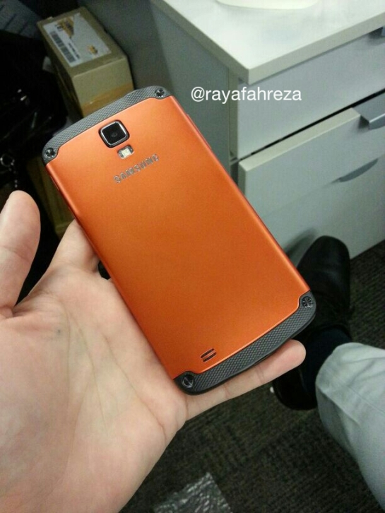 Samsung Galaxy S4 Active - Back