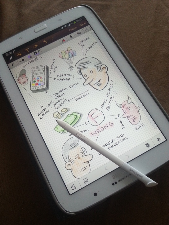 Iseng cari ide, semua obyek sketsa di sini dari Idea Sketch