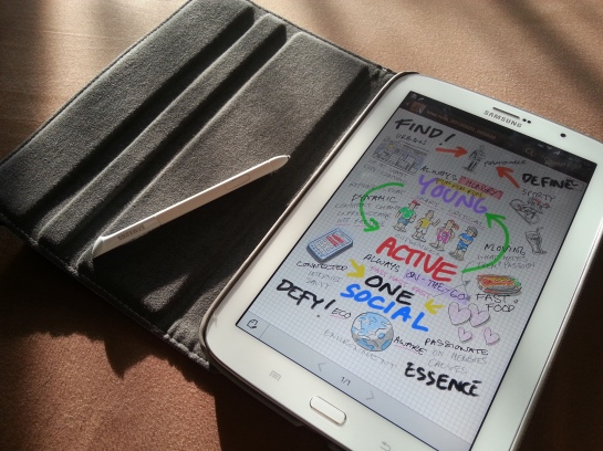 Idea Sketch, membantu cari ide di Galaxy Note 8.