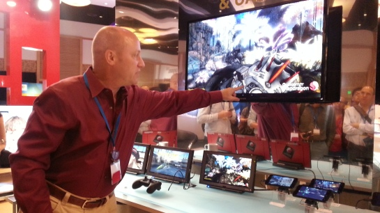 Kemampuan grafis SnapDragon di layar besar mulai mengejar kemampuan game console