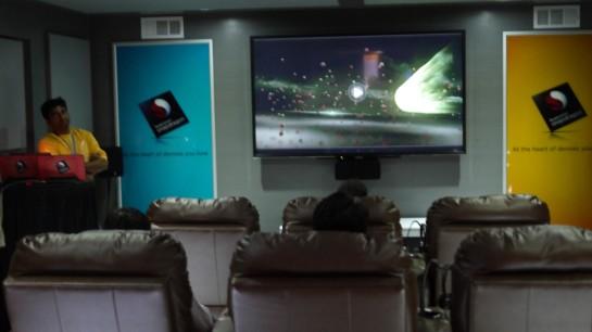 Home theater resolusi 4K dengan soundsystem suara 11.1 speaker, cukup dengan device SnapDragon saja!