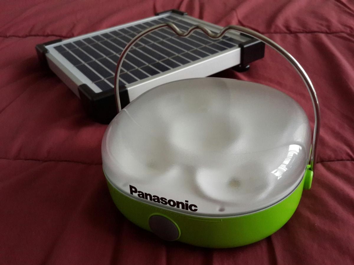 Panasonic Solar Lantern: Lentera dengan Pengisi Daya Tenaga Surya