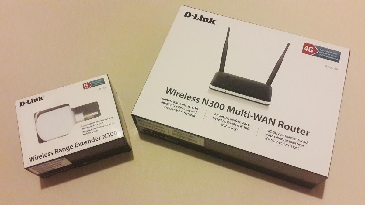 Menyiasati Wifi Di Ruko 3 Lantai: Router D-Link DWR-116 & Range Extender DAP-1320
