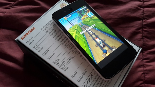 Subway Surfer di Evercoss One X