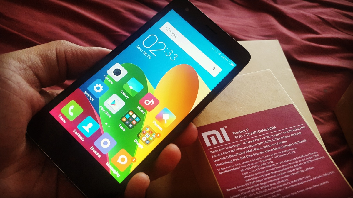 Kesan Pribadi: Xiaomi Redmi 2 Prime Edition